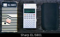 Sharp EL-5801